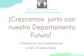 ¡Crezcamos  junto con nuestro Departamento Futuro!